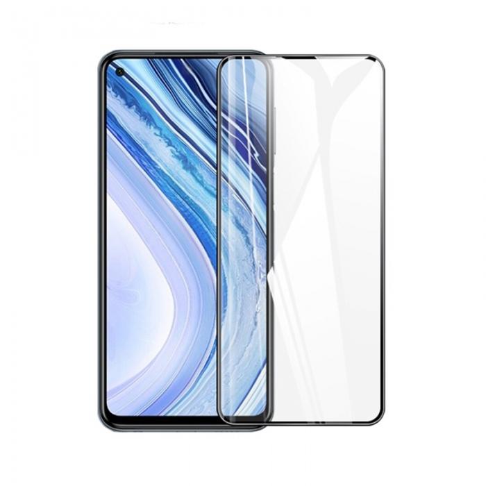 Захисне скло Full Glue Tempered Glass XIaomi Redmi Note 9 чорне