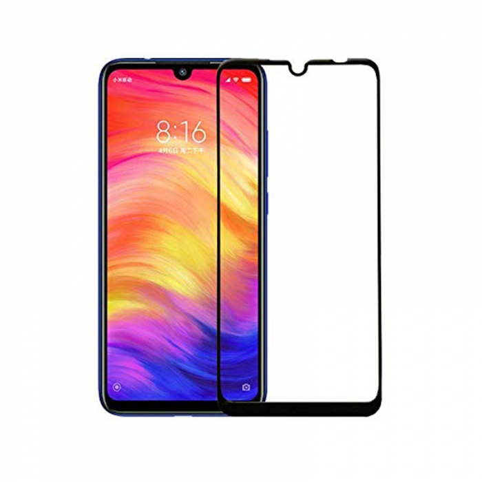 Захисне скло Full Glue Tempered Glass Xiaomi Redmi Note 7 чорне