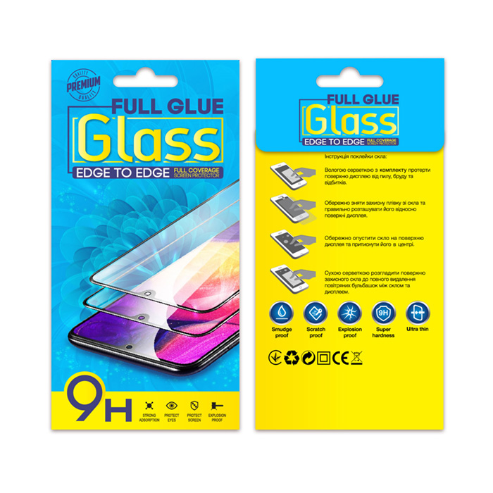 Захисне скло Full Glue Tempered Glass Xiaomi Redmi Note 7 чорне